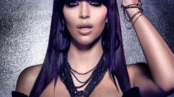 Kim Kardashian Almost Unrecognizable With Contact Lenses, Pumped