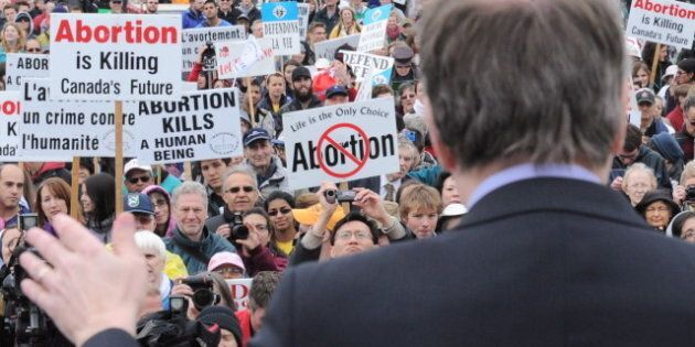 Abortion Debate: March For Life Rally Closes Ottawa