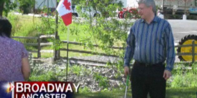 Harper Mini Golf Trip: Prime Minister Slips Into New York For