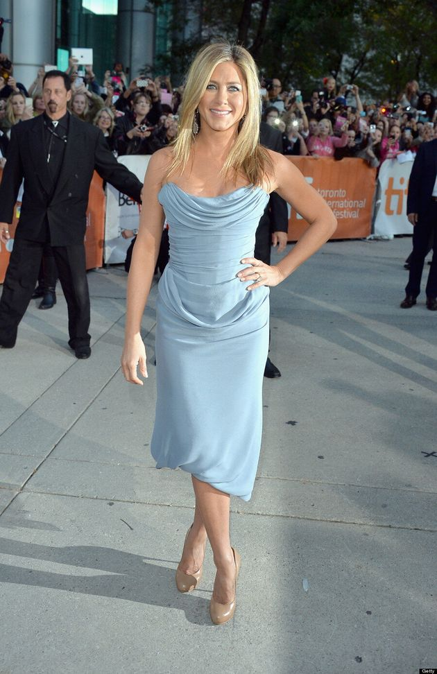 Jennifer Aniston TIFF 2013: Brad Pitt's Ex Is Worth The Wait At 'Life Of Crime' Red Carpet