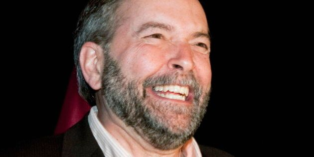 Thomas Mulcair's 'Dutch Disease' Strategy May Be Paying Off For The