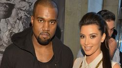 Kim Kardashian With Kanye West At The Bay in