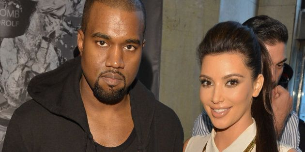 Kim Kardashian And Kanye West Grace Toronto With Their Presence At The Bay