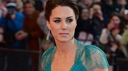 Kate Middleton Stuns In Body-Hugging Teal Dress At Olympic Gala