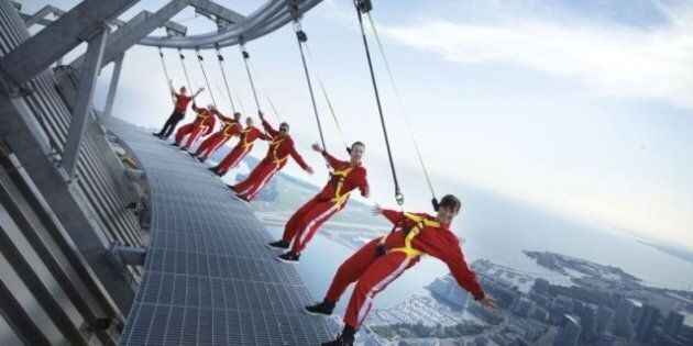 CN Tower EdgeWalk Not For Those Afraid Of Heights (PHOTOS,
