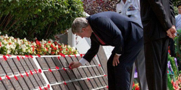 Korean War Veterans Honoured At Armistice