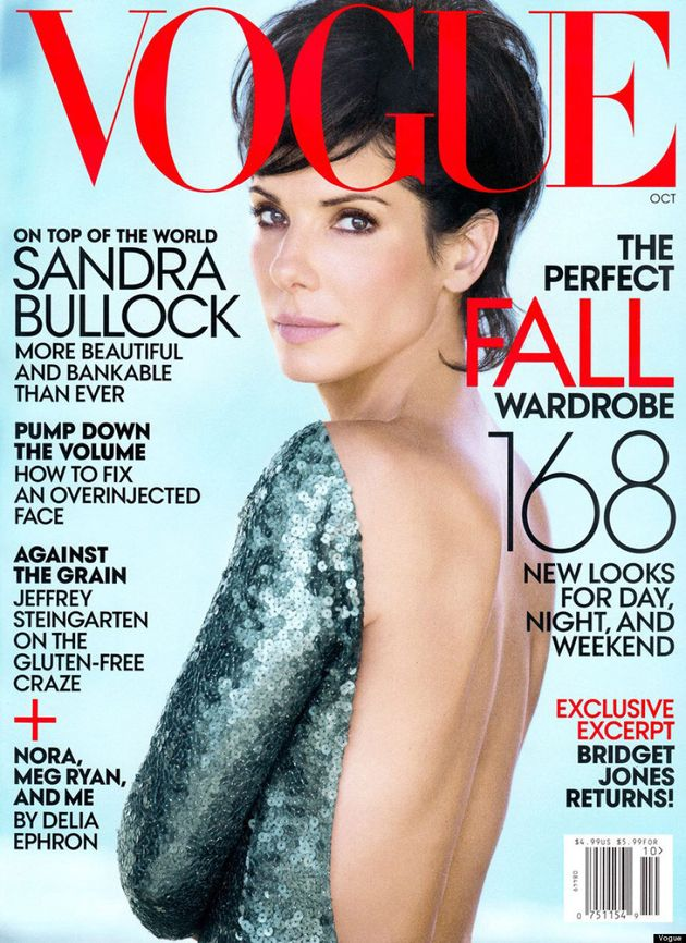 Sandra Bullock's Vogue Hair Is A Mystery