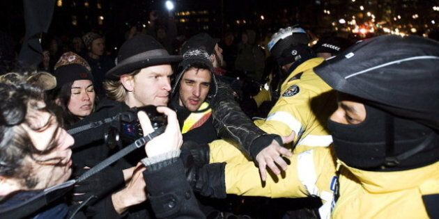 2 Arrested During Occupy Toronto