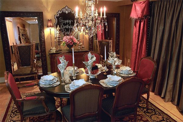 candice olson dining room | A Dining Room Fit for Royalty | HuffPost Canada