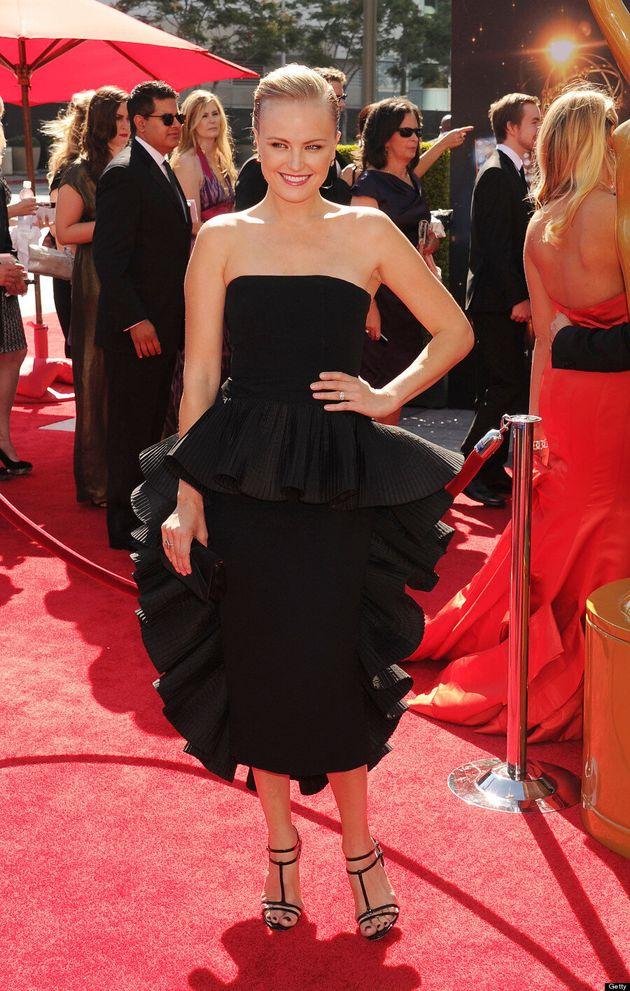 Malin Akerman Flaunts Post-Baby Style At Creative Arts Emmy Awards