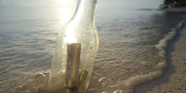 Steve Thurber's Message In A Bottle Discovery Near Tofino May Be World's