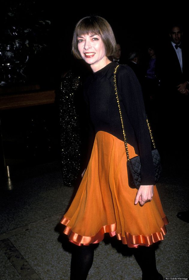 Vogue Editors Then And Now: Anna Wintour's Haircut Hasn't Changed