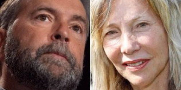 Tom Mulcair Says NDP Won't Tax Super-Rich, But Toronto Candidate Linda McQuaig Favours