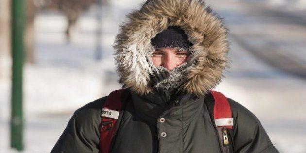 Record Lows Hit Alberta As Arctic Air Moves