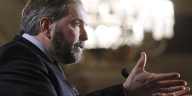NDP Economy: Thomas Mulcair Aims To Dispel Fears About Party's Ability To Manage