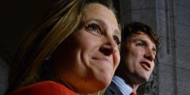 Trudeau Names Chrystia Freeland, Toronto Centre Candidate, Co-Chair Of Economic Advisory