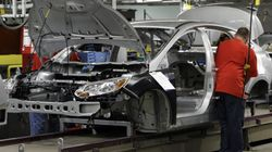 Canada Manufacturing Up 4 Months Out Of