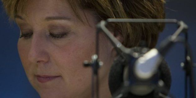 B.C. Premier Delivers Talk Show 'Throne