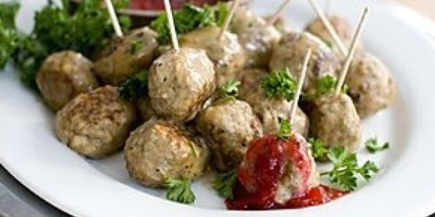 Low-Fat Meatballs For Oscars: Rocco DiSpirito's Lighter Recipe A Party