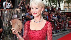 Helen Mirren Looks Red
