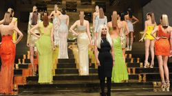 Versace Returns To Haute Couture With Grecian