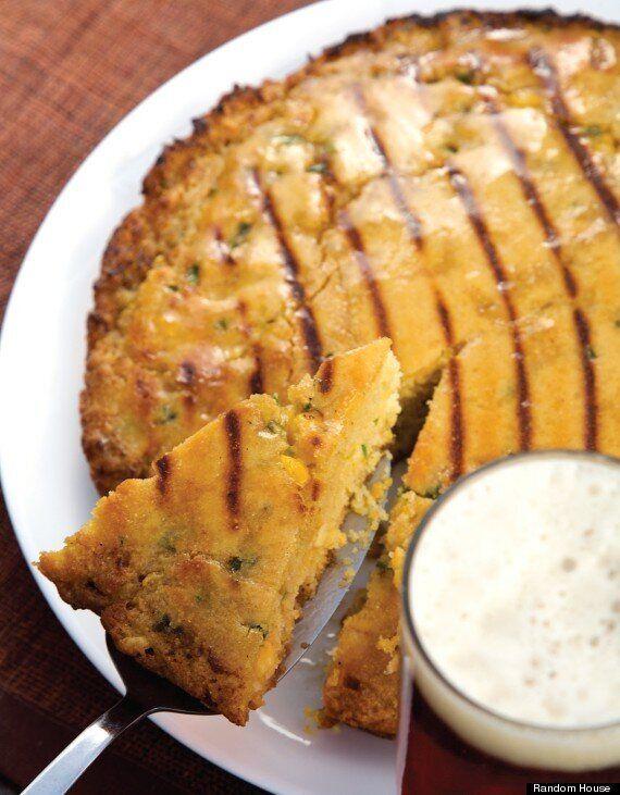 Jalapeno Beer Cornbread Recipe: Double-Grilled Summer Cornbread