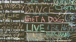 'Before I Die' Blackboard A Hit In
