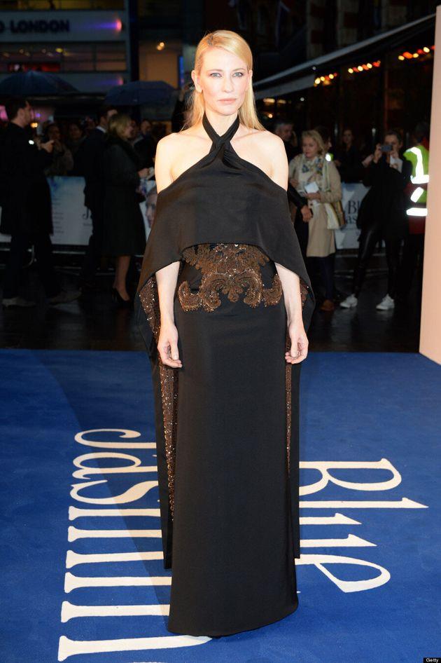 Cate Blanchett's 'Blue Jasmine' Dress Brings Drama To The Red Carpet (VIDEO,