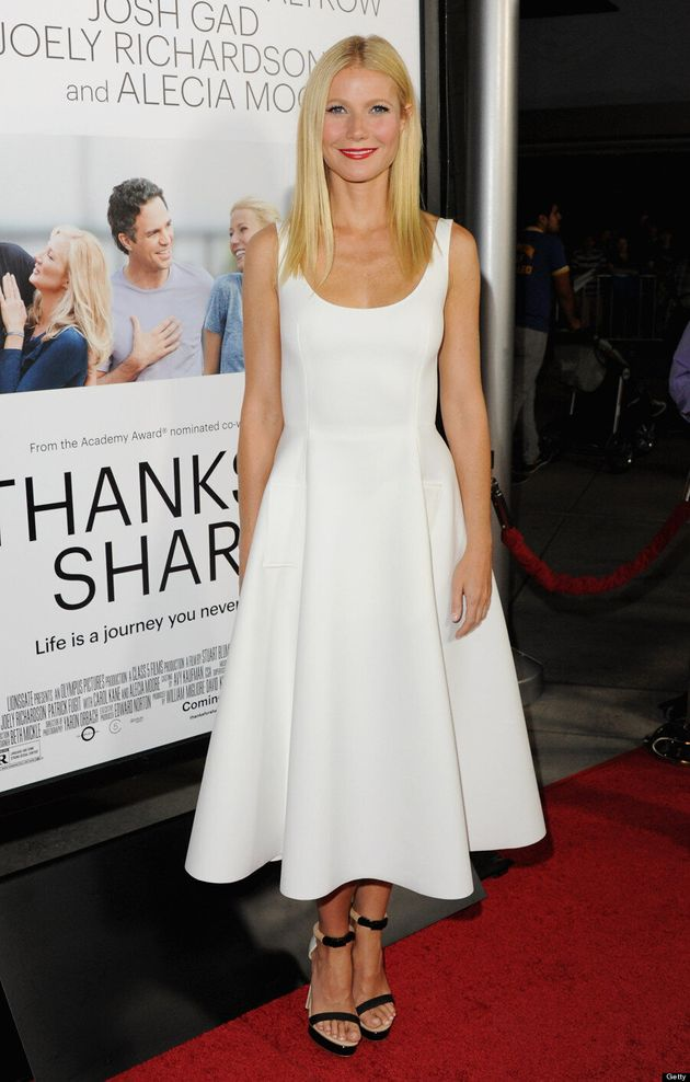 Gwyneth Paltrow Makes Tank Dress Glamorous At 'Thanks For Sharing' Premiere (VIDEO,