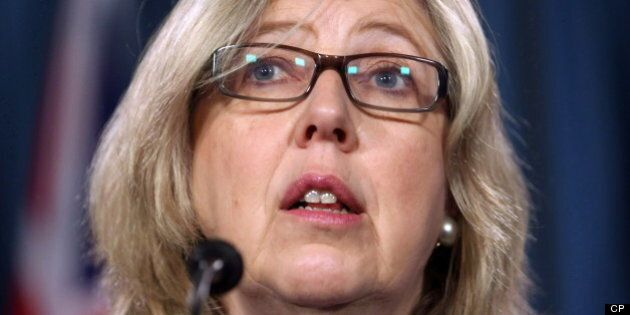 Elizabeth May Slammed For Erroneous Tweet About Sarnia Train
