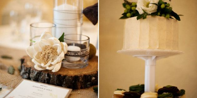 REAL WEDDING: Mike & Jenn's Rustic, DIY