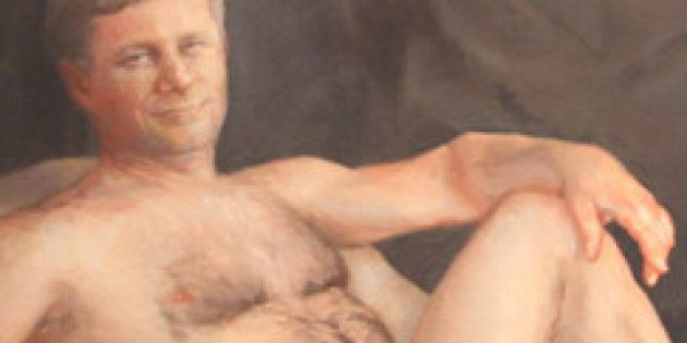 Harper Nude Painting By Margaret Sutherland Makes A Splash