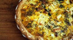 Let's Do Brunch: Sausage, Chard and Feta Quiche