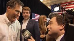 WATCH: Canadian Comedian Crashes Romney
