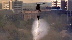 Massive Halifax Brush Fire Sends Residents Scrambling From