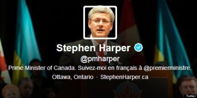 Stephen Harper's Twitter: PM Ranks 38th In Tally Of World Leaders'
