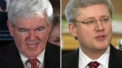 Gingrich Gives Harper A
