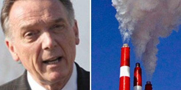 Peter Kent: Greenhouse Gas Emissions Stable Despite Canada's Economic