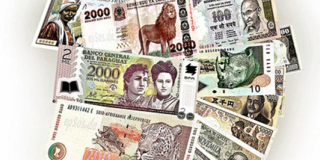Canadian Dollar, Japanese Yen Drop In Chaotic Day Of