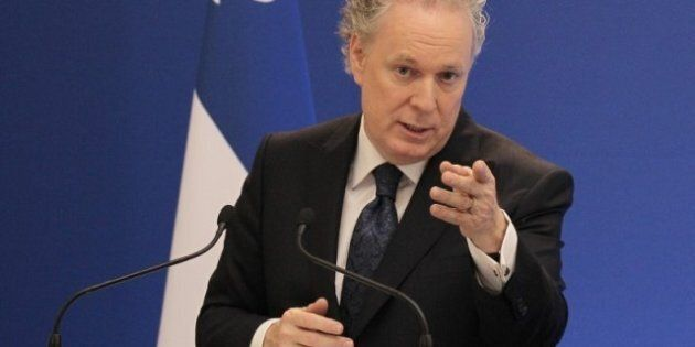 Jean Charest Says Quebec Transport Minister Has His