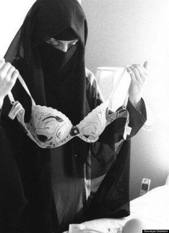 Muslim Woman's Bra Photo Sparks