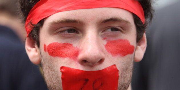 Quebec Student Protest Timeline Marks 100
