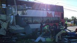 City Bus Collides With Train, Fatalities