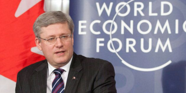 Harper At Davos 2012: PM To Pitch Canadian Economy To World