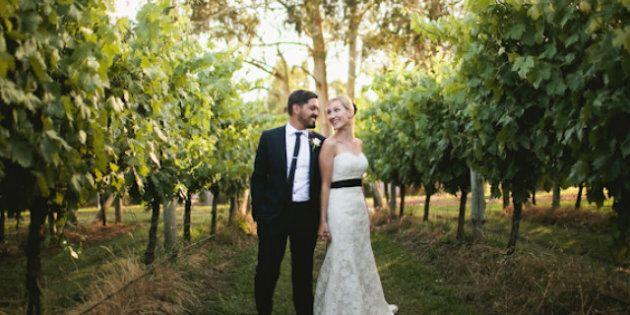 REAL WEDDING: Stunning