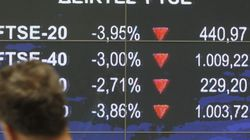 Massive Selloff On Greek Stock