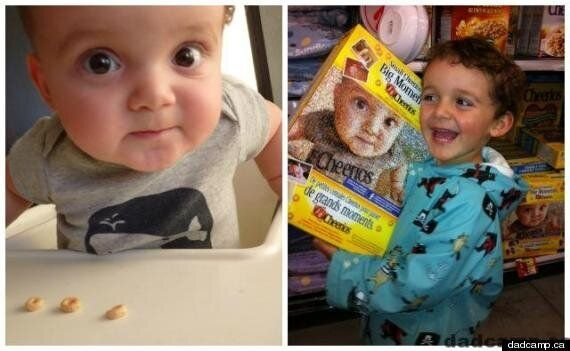 Buzz Bishop Cheerios Photo: Calgary Dad Issues Photo Contests