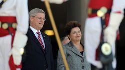 Harper's Brazil Visit Overshadowed By Market