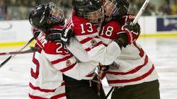 Canada Wins Women's World Hockey