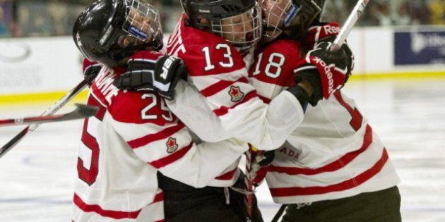 Canada Wins Women's World Hockey Gold On Caroline Ouellette's Overtime